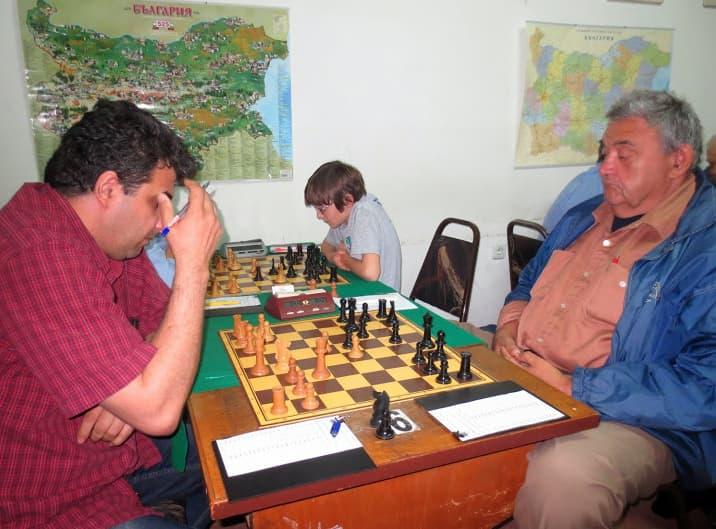 Момент от срещата между Костурков и Орев