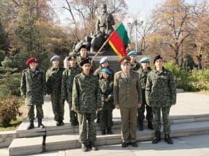 ученическият батальон в Стрелча