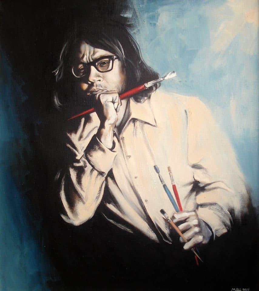 """""""В памет на брат ми"""", художник Манол Панчовски, 2001 г."""