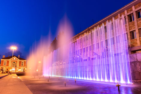 фонтан-център