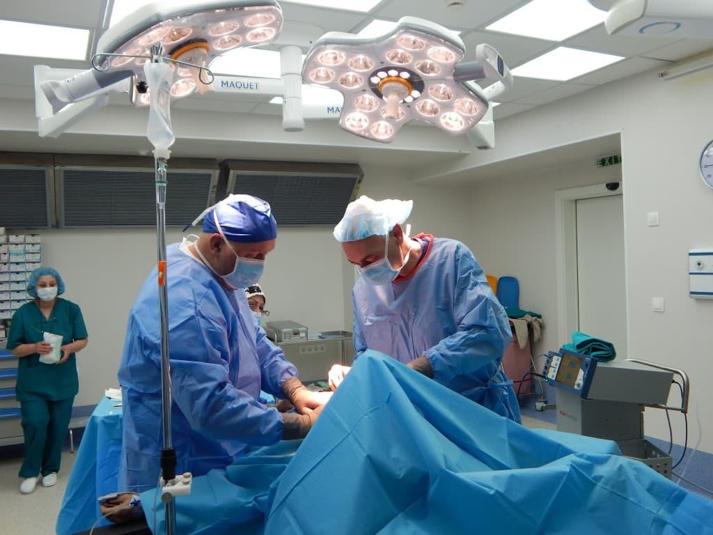 operation - thoraicic
